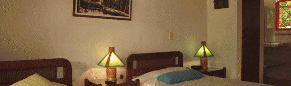 Habitación Twin.  Fuente: carmendelpinar.com